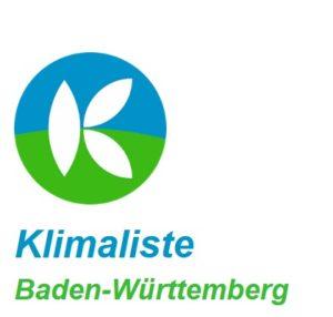 Klimaliste Baden-Württemberg